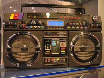 lasonic Boom Box ipod
