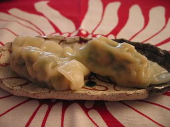 海老ニラ餃子