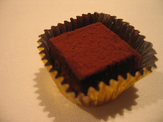 OTTO SETTEのプチフール 生チョコレート