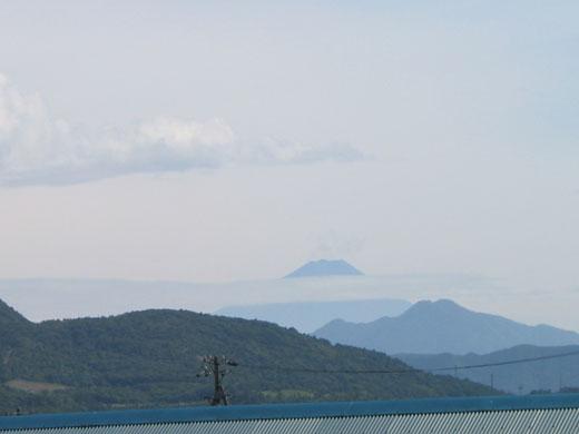 八ヶ岳牧場から望む富士山