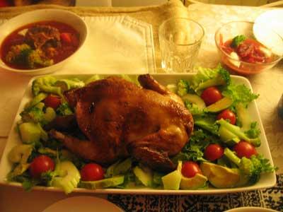 染谷フーズ謹製「鶏の丸焼き」