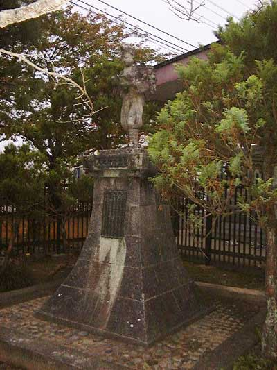 旧登米高等尋常小学校の二宮尊徳像
