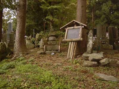 瑞昌院殿分岳妙本大姉の墓