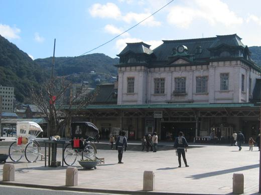 延焼前の門司駅